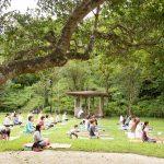 5感を感じるMt.Utubuki Yoga&TrailWalk in鳥取県倉吉市